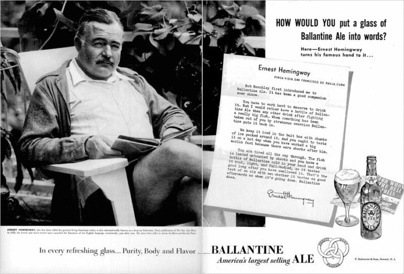 Hemingway NYT Ballantines