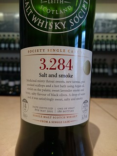 SMWS 3.284 - Salt and smoke