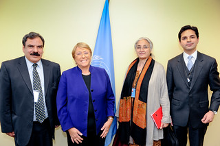 UN Women Executive Director Michelle Bachelet meets with representatives of Pakistan | by UN Women Gallery