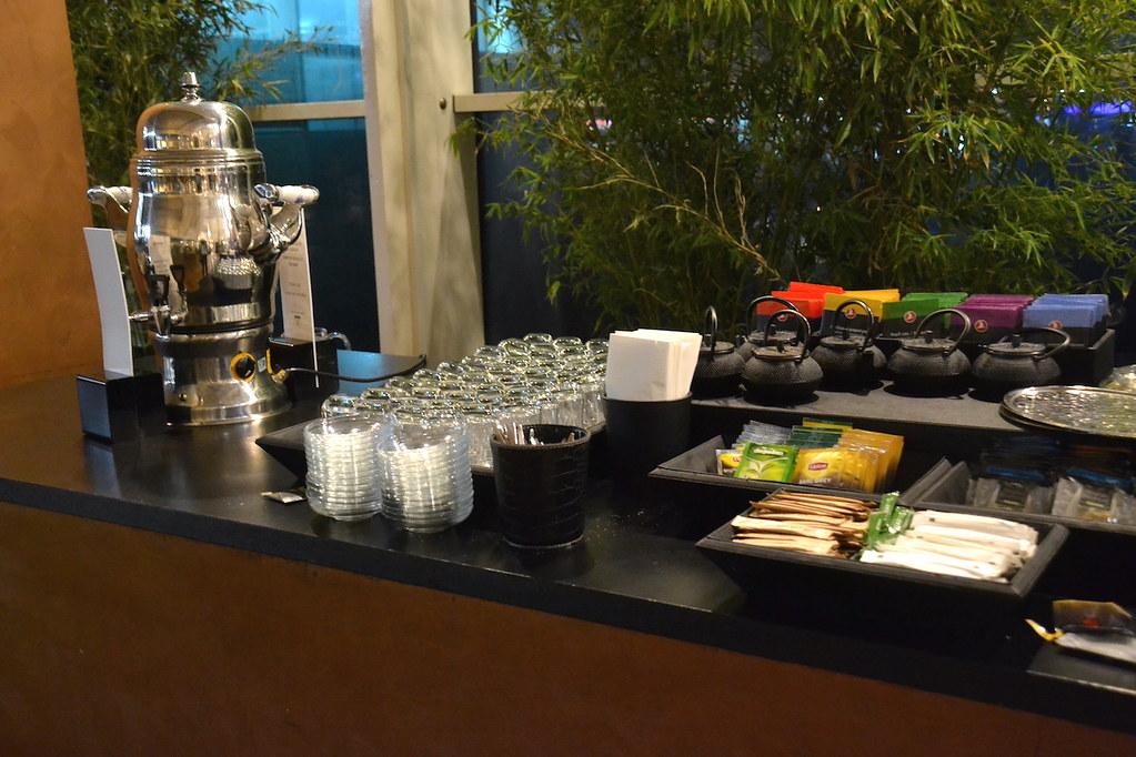土耳其航空貴賓室茶飲區