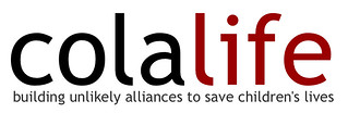 ColaLife Logo with strapline