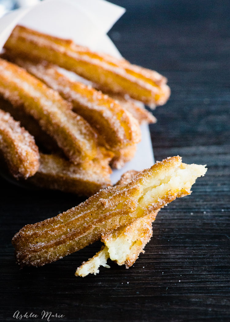 thin and with a great crunch these churro fries are easy to make and delicious