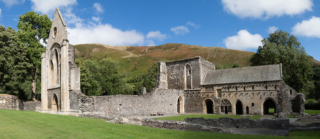 Valle Crucis Abbey 059 (1849)-Pano