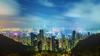 Hong Kong from The Peak | by dhilung