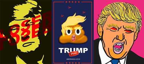 Donald J. Trump Triptych
