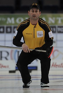 Edmonton Ab.Mar6,2013.Tim Hortons Brier.N.B. skip James Gratton.CCA/michael burns photo | by seasonofchampions