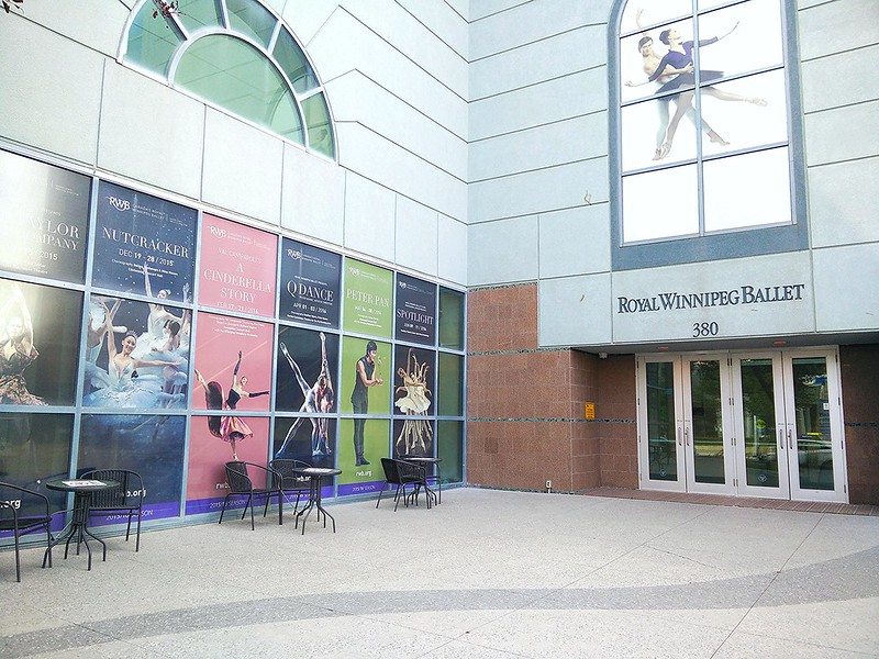 Royal Winnipeg Ballet Entrance