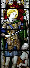 St Martin cuts his cloak for a beggar