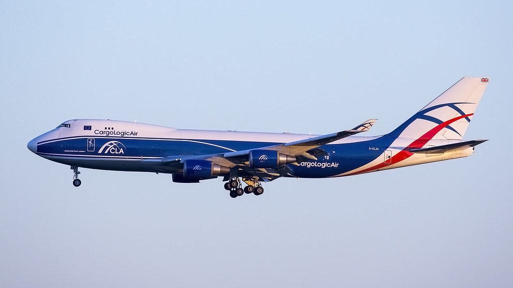 G-CLAA B747-400F Cargo Logic Air 24-08-16 eddf