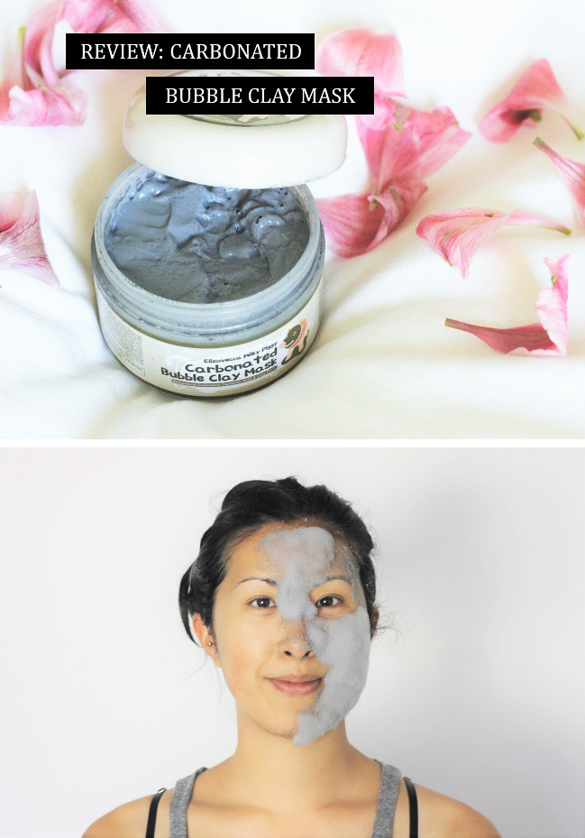 carbonated bubble face mask review via the demure muse