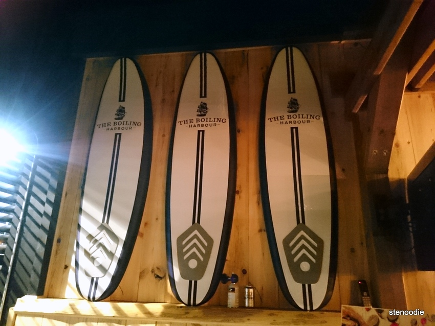 The Boiling Harbour surfboards