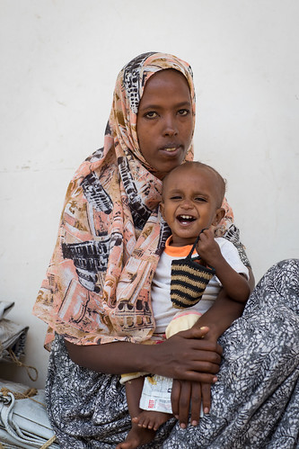 Drought response in Afar - UK AID