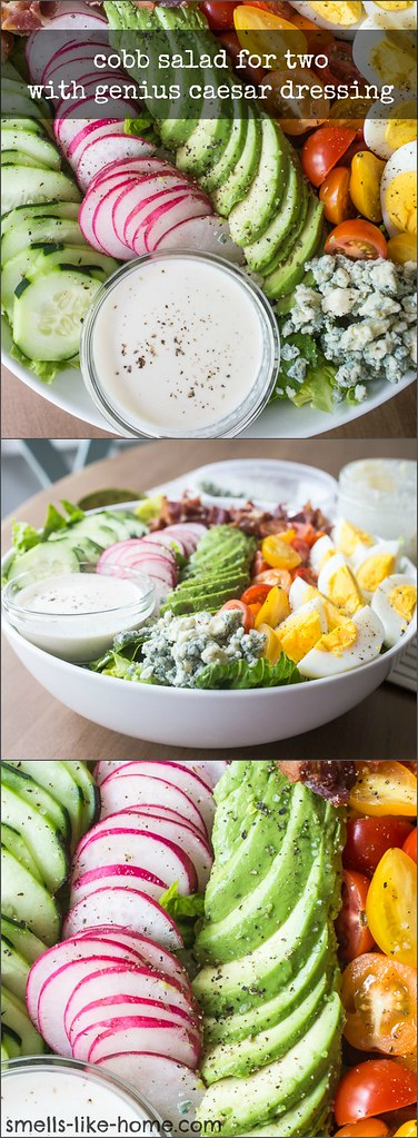 Cobb Salad for Two with Genius Caesar Dressing