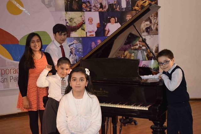 Representantes en Concurso Alapp de Piano 2016