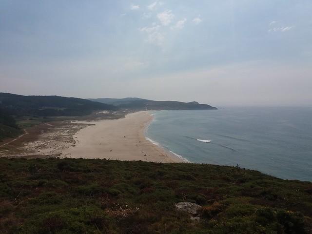 Playa de O Rostro en Fisterra