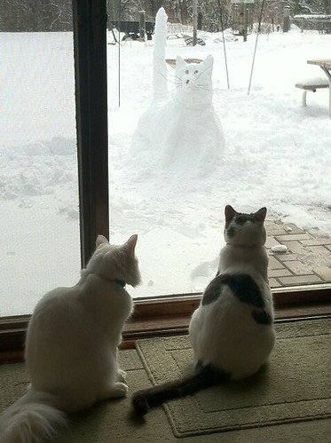 A Snowcat for Nigel and Mimsey Frost