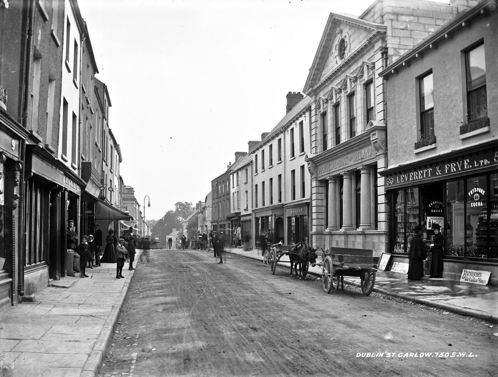 Dublin St. Co. Carlow | by National Library of Ireland on The Commons
