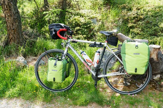 mein Transportmittel während der Reise