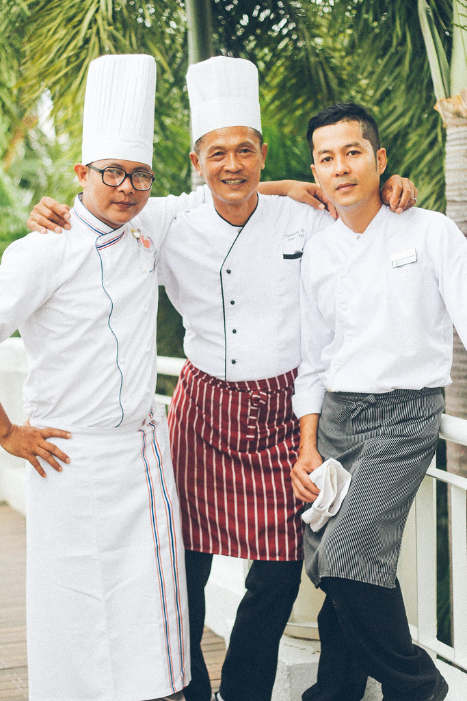Guest chefs for the Thai Fun Food Festival at The Sails - Sutee Yamkrathok, Teenasit Nakrua and Wiwat Yong-en_2757