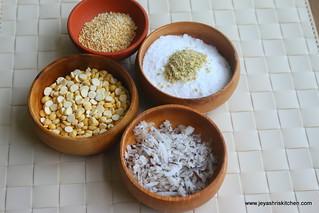 panchakhadya - ingredients