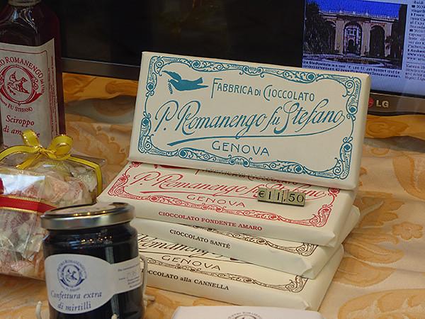chocolat de chez Romango