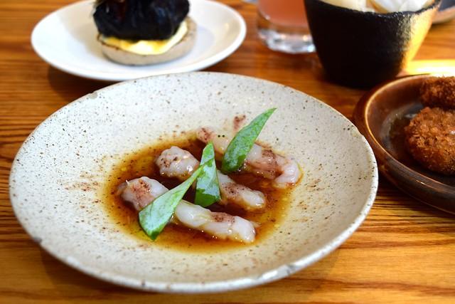 Raw Langoustines with Aged Soy at Bao, Fitzrovia | www.rachelphipps.com @rachelphipps