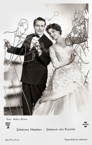 Johannes Heesters and Johanna von Koczian in Viktor und Viktoria (1957)