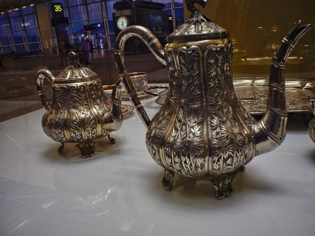 Tea Sets Display