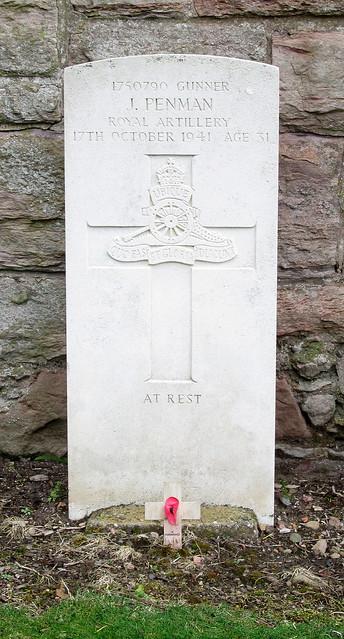 Roslin War Grave 1