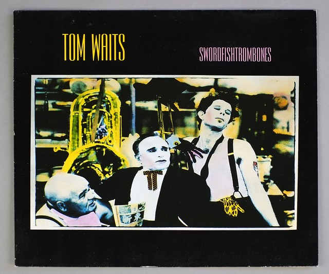 "TOM WAITS SWORDFISHTROMBONE 12"" LP VINYL"