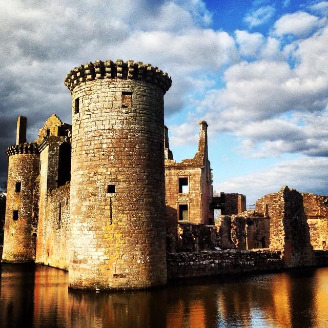 Caerlaverock Castle Tower