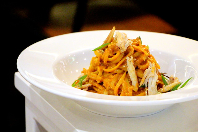 The Quarters Chilli Crab Pasta Ma Jie Indulgence