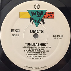UMC'S:UNLEASHED(LABEL SIDE-B)