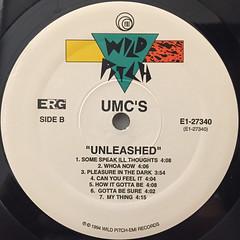 UMC'S:UNLEASHED(LABEL SIDE-B)