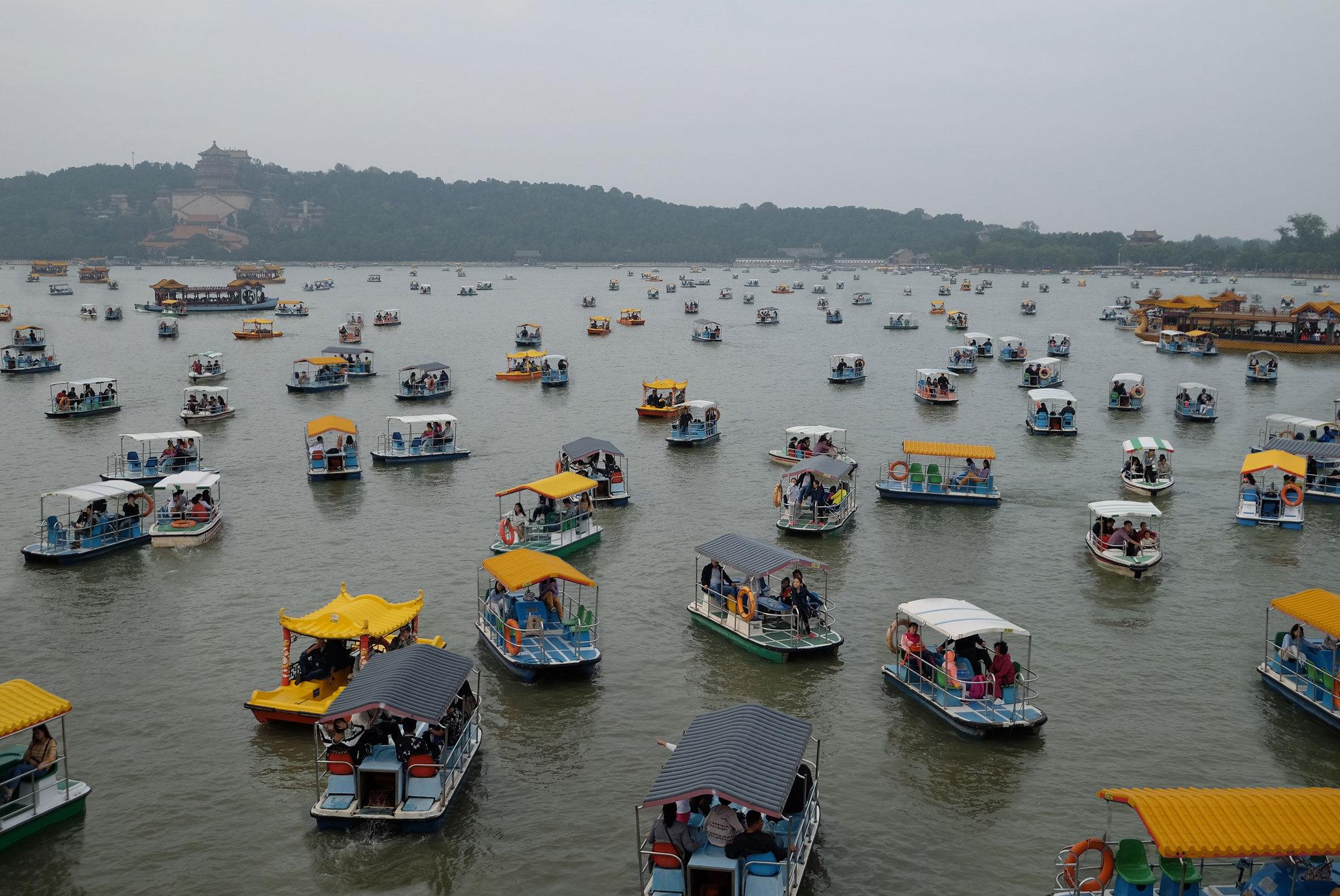 Boote auf dem Kunminghu