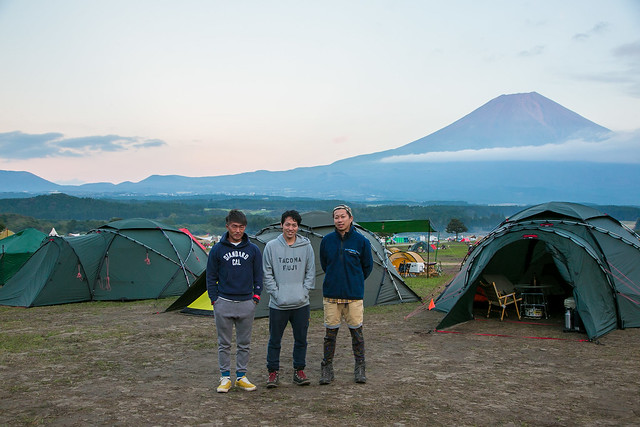 Hilleberg Roundup 2016 Tentsite Photo