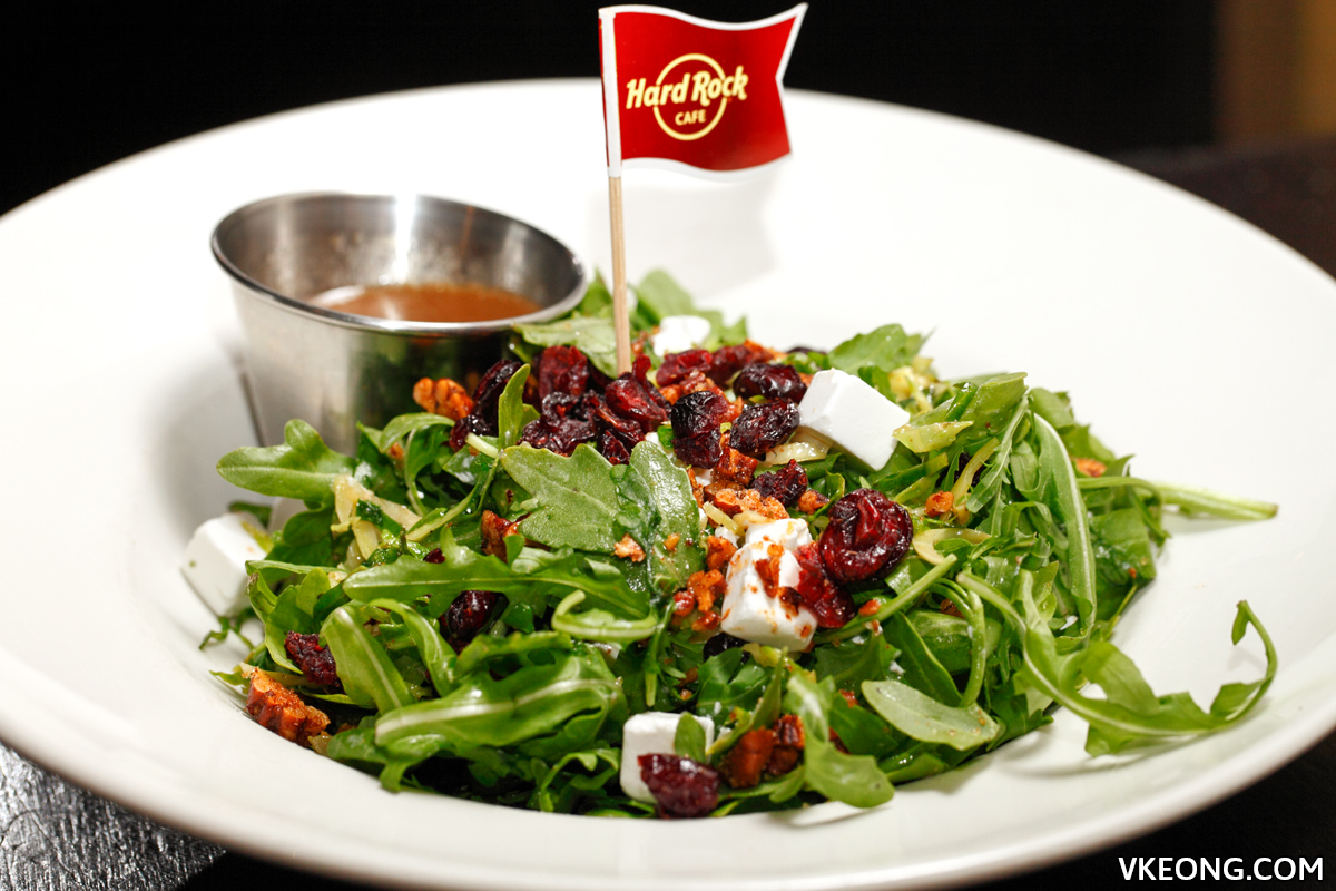 Hard Rock Cafe KL Quinoa Arugula Salad