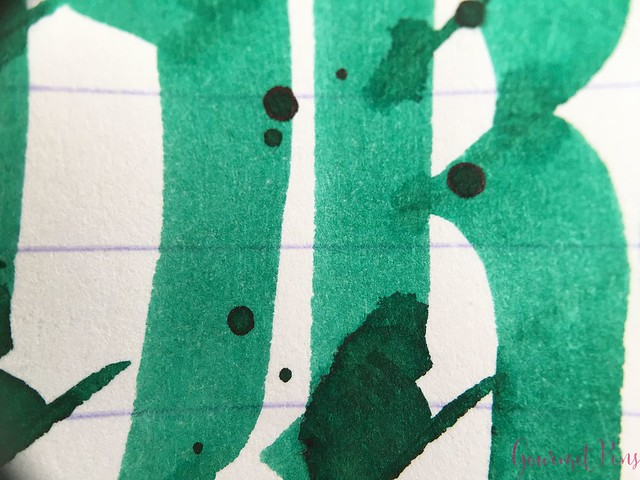 Ink Shot Review Pelikan 4001 Dark Green @deRoostwit 8