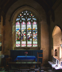 south aisle chapel (former chancel)