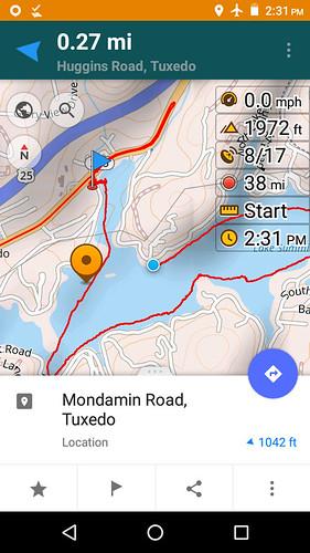 Lake Summit track screenshot