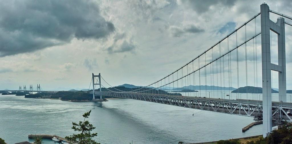 瀬戸大橋 パノラマ