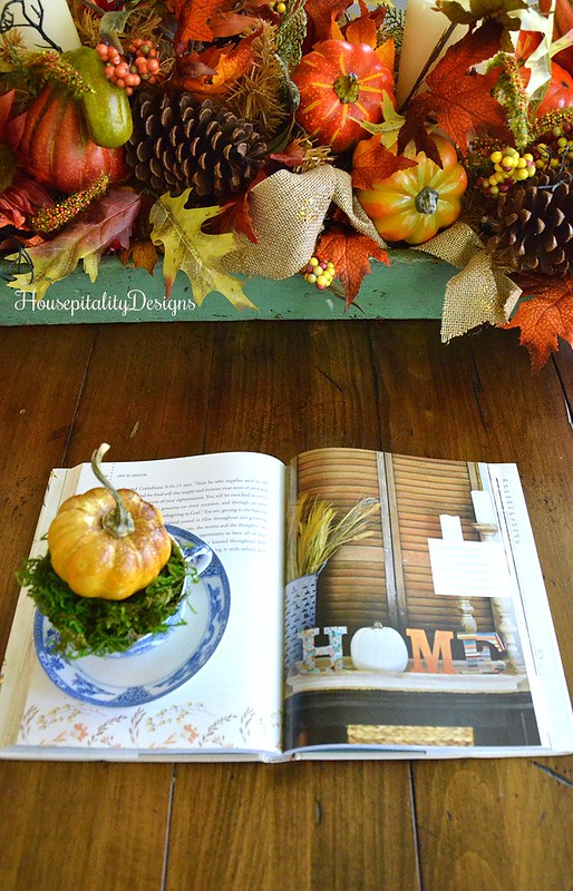 Autumn Vignette - Life in Season - Housepitality Designs