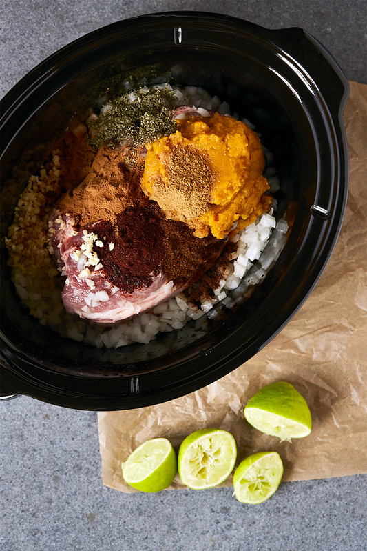 Slow Cooker Fall Carnitas Tacos {Grain-free}