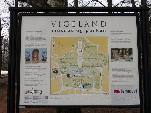 2016 Oslo - Stadt - Vigeland Skulpturenpark