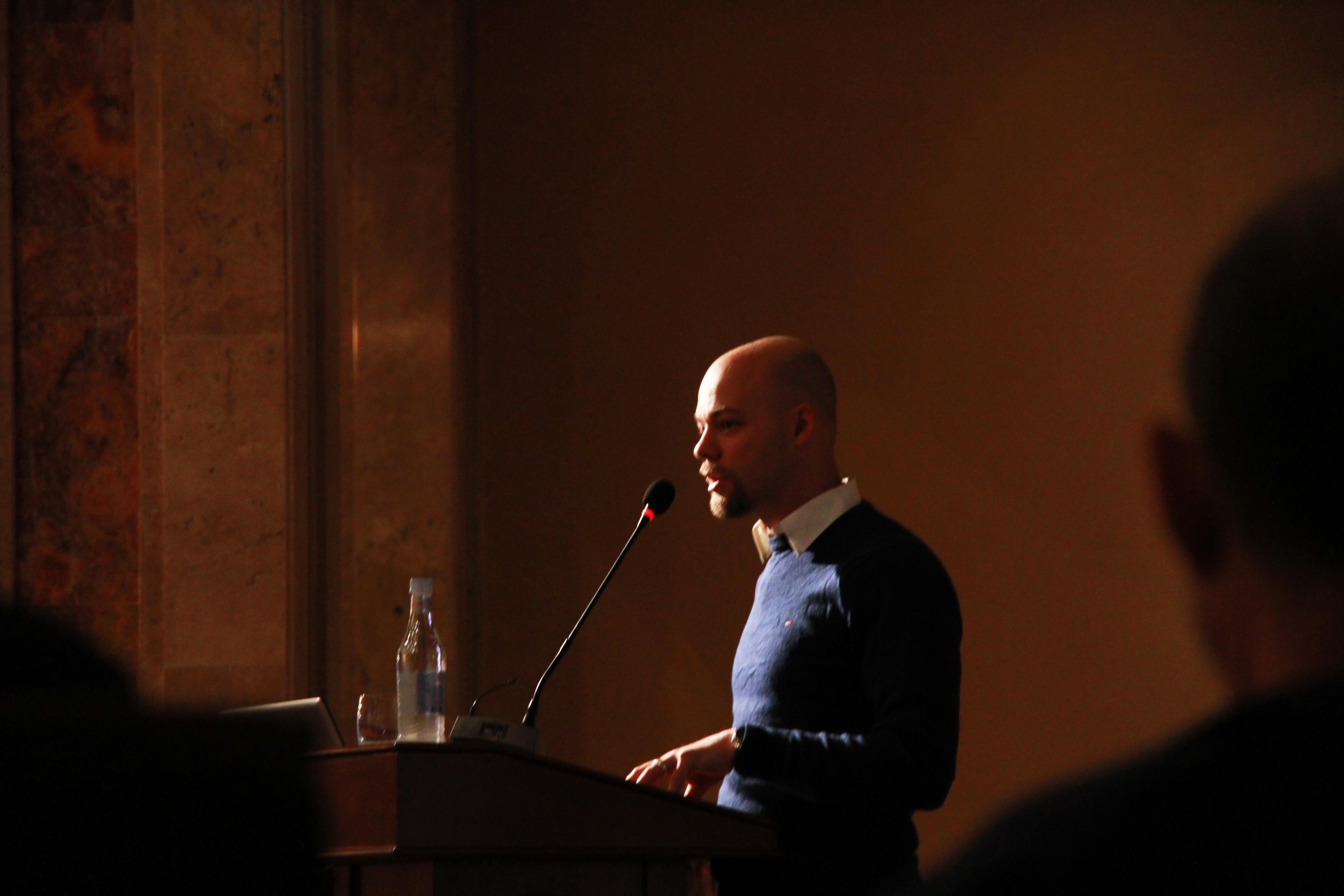 Դմիտրի Վելիկովսկին՝ Թվապատում 2016 կոնֆերանսին