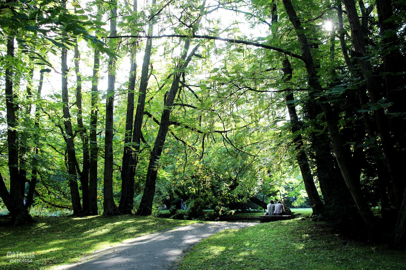 park oliwa, gdansk oliwa, gdanskin nähtävyydet, sightseeing in gdansk, park oliwski
