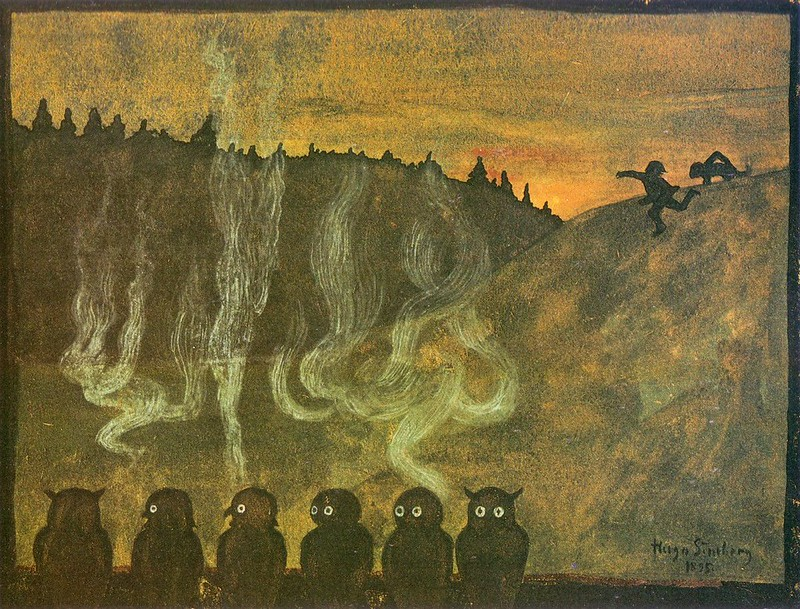 Hugo Simberg - Sight, 1895