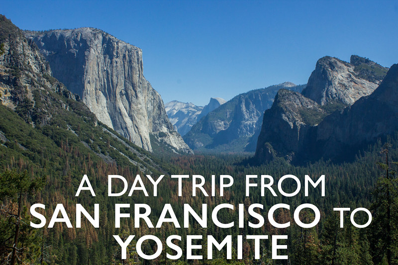 A day trip to Yosemite from San Francisco with Extranomical Tours
