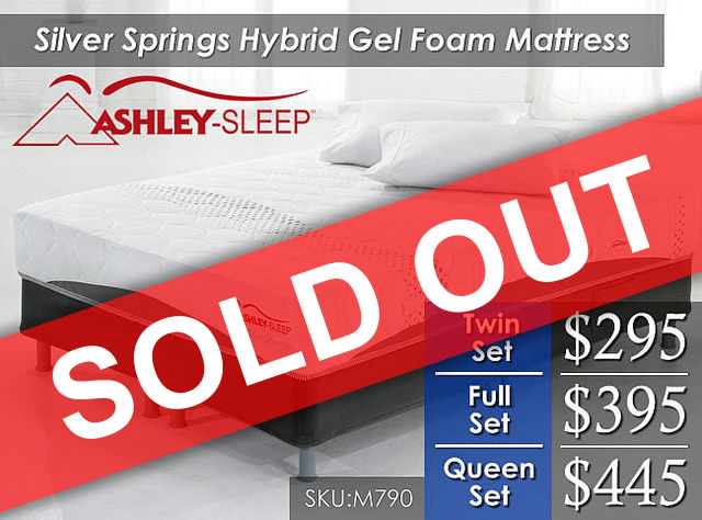 Silver Springs Ashley Sold OUT