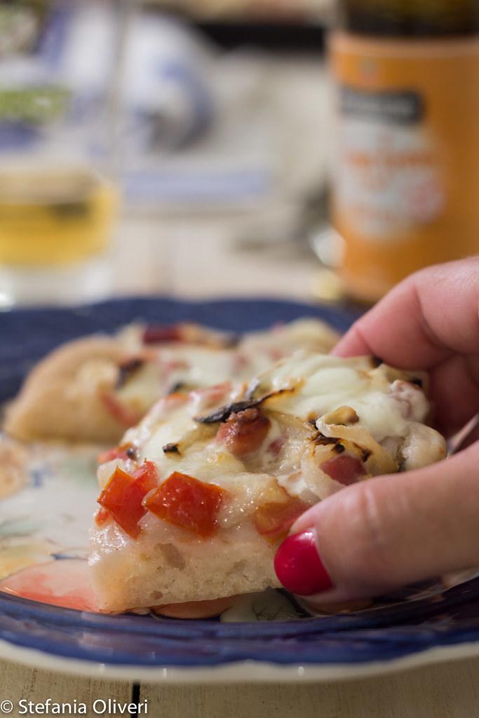 Pizza con sorgo 7024